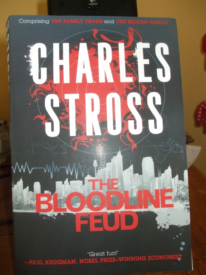 Charles Stross, THE BLOODLINE FEUD.