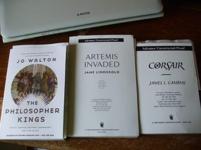 Three, from Tor Books.