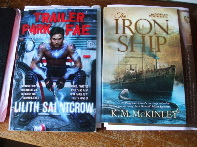 These arrived Friday. I've been rather distracted in the interim...