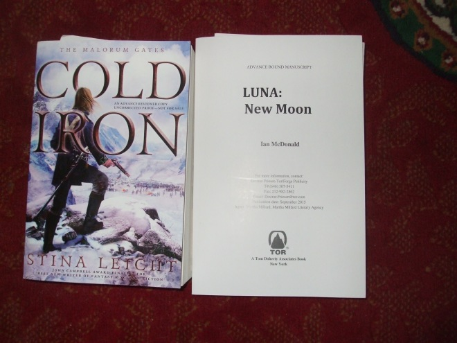 Stina Leicht, COLD IRON and Ian McDonald: LUNA: NEW MOON.