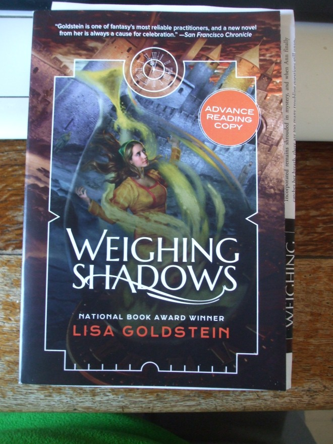 Lisa Goldstein, WEIGHING SHADOWS